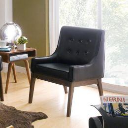 Nima-Black  Single Chair