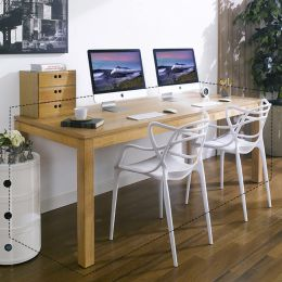 Ocean-Natural-D  Large Desk