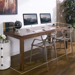 Ocean-Walnut-D  Large Desk