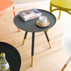 Mozilo-Grey  Round Table