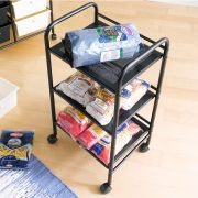 F72AH 3-Tier Metal Trolley