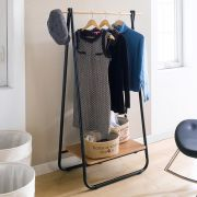 LS141-Black  Clothes hanger