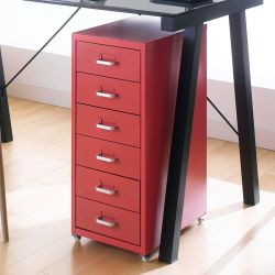 LLC-Z6B-Red  Metal Cabinet