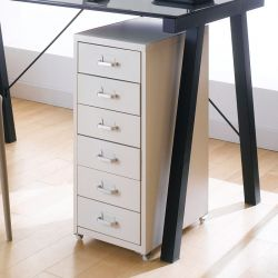 LLC-Z6B-Ivory  Metal Cabinet