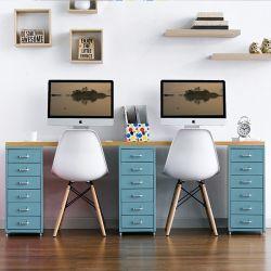 Recabin-Blue-Oak  Desk