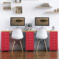 Recabin-Red  Desk