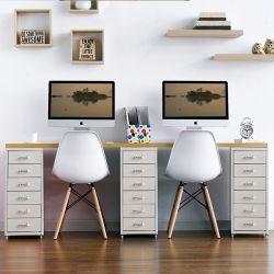 Recabin-White-Oak  Desk