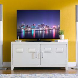 LLC-48-White  TV Stand