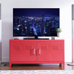 LLC-48-Red  TV Stand