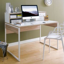 8018649ak   Toronto Desk w/ Hutch