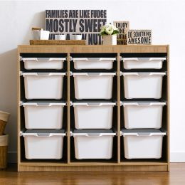 Kreo-OAK-WHT-12   Storage Box