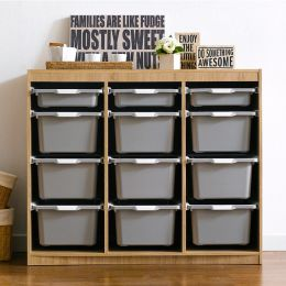 Kreo-OAK-GRY-12  Storage Box