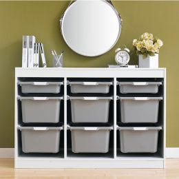 Kreo-WHT-GRY-9  Storage Box