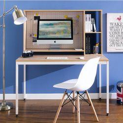 HDH-100-Oak  Desk w/ Hutch