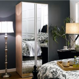 WD-130  Single Closet w/ Mirror Door