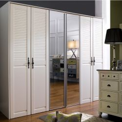 WD-1690-MR  3-Unit Closetw/ Mirror Door