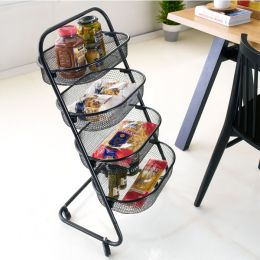 KS11-BK  4-Mesh Basket Rack
