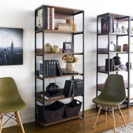 (0) HB-800-Walnut  Bookcase