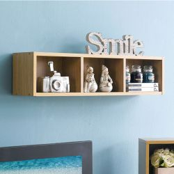 WS-800-Oak  Wall Storage