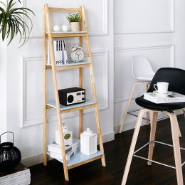 NH6832B-Blue  4-Shelf Rack