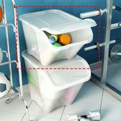 All-In-Box-L-White  Storage Box