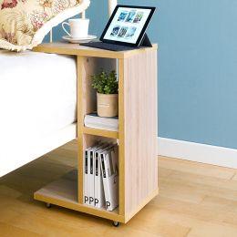 ST-001-Oak  Mobile Table