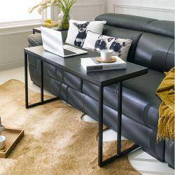Excel-1000-Black  Sofa Desk   (2인용)