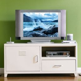 LLC-48A-White  TV Stand