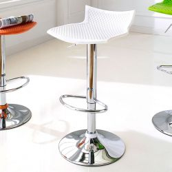TF-845-White  Bar Stool