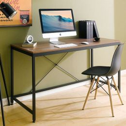 MD-1400-Black  Metal Large Desk
