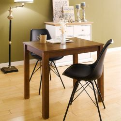 Kelly-WA-2-Black  Dining Set (1 Table + 2 Chairs)