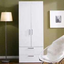 WD-200-B   Single Closet w/ 2-Drawer