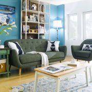 Denver-Green  2.5-Seater Sofa