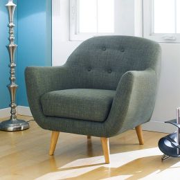 Denver-Green  Single Chair
