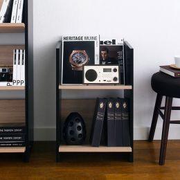 HB-30-2  2-Shelf Mini Bookcase