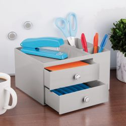 39266ES  2-Drawer w/ Side Organizer