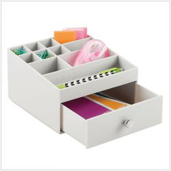 37366ES  1-Drawer Cosmetic Organizer
