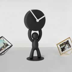 118510-040 Buddy-Clock-Black