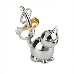 299212-158 Zoola Cat-Chrome Ring Holder