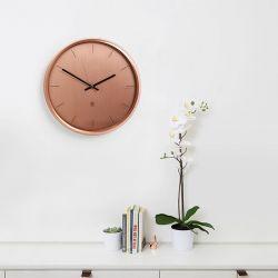 Meta-Copper  Wall Clock