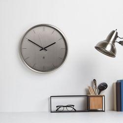 Meta-Nickel Wall Clock