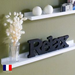 Sadie-White  Wall Shelf   (1 Pc)