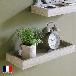 Savannah-Oak Wall Shelf   (1 Pc)