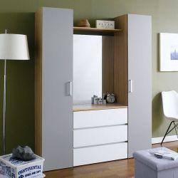 SRD-Grey-Mirror  2-Door w/ Mirror