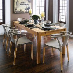 Cope-PP-Grey  Dining Set (1 Table + 6 Chairs)