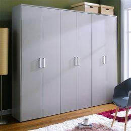 WD-3200-Grey  3-Unit Closet