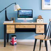 NB-Blue-Leg-Desk Leg Desk