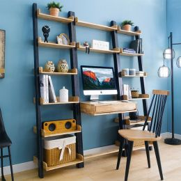 NB-Roy-Desk-2-Shelf  Wall Unit   (3 Pcs 포함)
