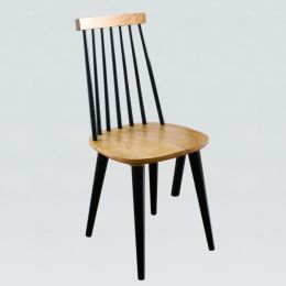 Browny  Wooden Chair