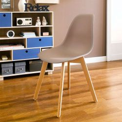 Scandi-Light Brown  Chair